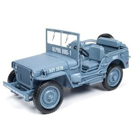 Jeep Willys MB Jeep WWII Construction Battalion  1941 - 1:18 - Auto World