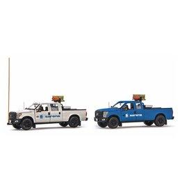 Ford Ford F250 Pick-up Truck Escort Set 'Sarens' - 1:50 - IMC Models
