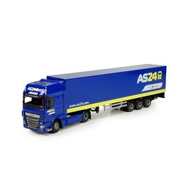 DAF DAF XF Euro 6 SSC + Semi Boxtrailer 'AS24' - 1:50  - Lion Toys