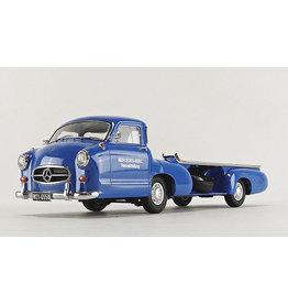 Mercedes-Benz Mercedes-Benz Renntransporter 'Blaues Wunder' - 1:18 - iScale