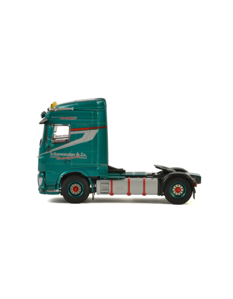 DAF DAF XF Euro 6 Space Cab Tractor 4x2 'Schavemaker & Zn.' - 1:50 -  WSI Models