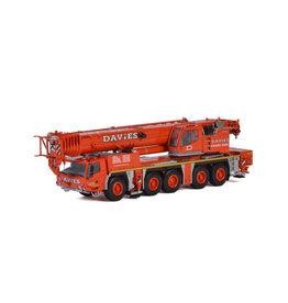 Tadano Faun Tadano Faun ATF 220G-5 Euro 4 'Davies Crane Hire' - 1:50 - WSI Models