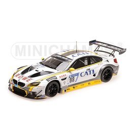 BMW BMW M6 GT3 Rowe Racing #98 2nd Place 24h Nürburgring 2017 - 1:18 - Minichamps
