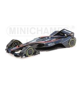 Formule 1 Formula 1 McLaren MP4-X 2015 Study - 1:43 - Minichamps