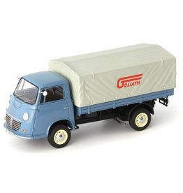 Goliath Goliath Express 1100 Flatbed Truck Germany 1957 -1:43 - AutoCult