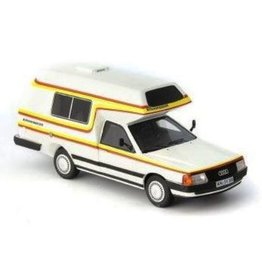 Audi Audi 100 Type 44 Bischofberger Family Camper Germany 1985 - 1:43 - Autocult