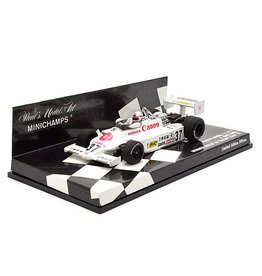 March March Honda F2 812 #37 Winner Great 20 Racers Race Suzuka 1981 - 1:43 - Minichamps
