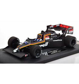 Formule 1 Formula 1 Tyrrell Ford 012 S. Bellof Belgian GP 1984 - 1:18 - Minichamps