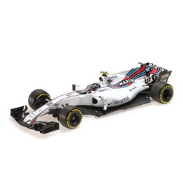 Formule 1 Williams Martini Racing Mercedes FW40 L. Stroll 2017 - 1:18 - Minichamps