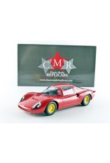 Ferrari Ferrari Dino 206 S Berlinetta Plain Body - 1:18 - CMR Classic Model Replicars