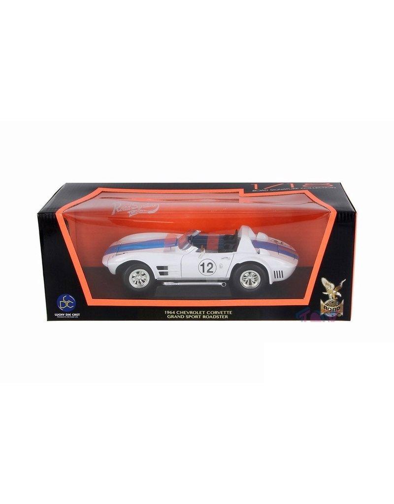 Chevrolet Chevrolet Corvette Grand Sport Roadster #12 1964 - 1:18 - Road Signature