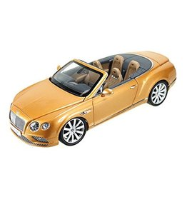 Bentley Bentley Continental GT Convertible LHD 2016 - 1:18 - Paragon Models