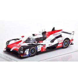 Toyota Toyota TS050 Hybrid 2nd Le Mans 2018 - 1:18 - Spark