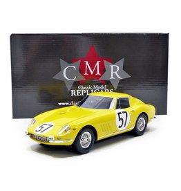 Ferrari Ferrari 275 GTB #57 Le Mans 1966 - 1:18 - CMR Classic Model Replicars