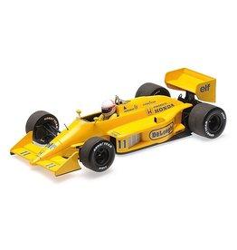 Formule 1 Formula 1 Lotus Honda 99T #11 Monaco GP 1987 - 1:18 - Minichamps