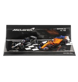Formule 1 Formula 1 2-car set PS01 2001 & MCL33 2018 Alonso  - 1:43 - Minichamps