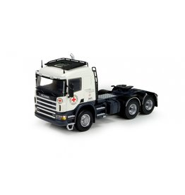 Scania Scania P 4 Series Tractor Sleeper Cab 'Red Cross' - 1:50 - Tekno