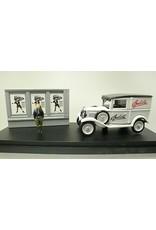 Fiat Fiat Balilla Kasten Werbefahrzeug + Plakatwand + Figur 1935 - 1:43 - Rio