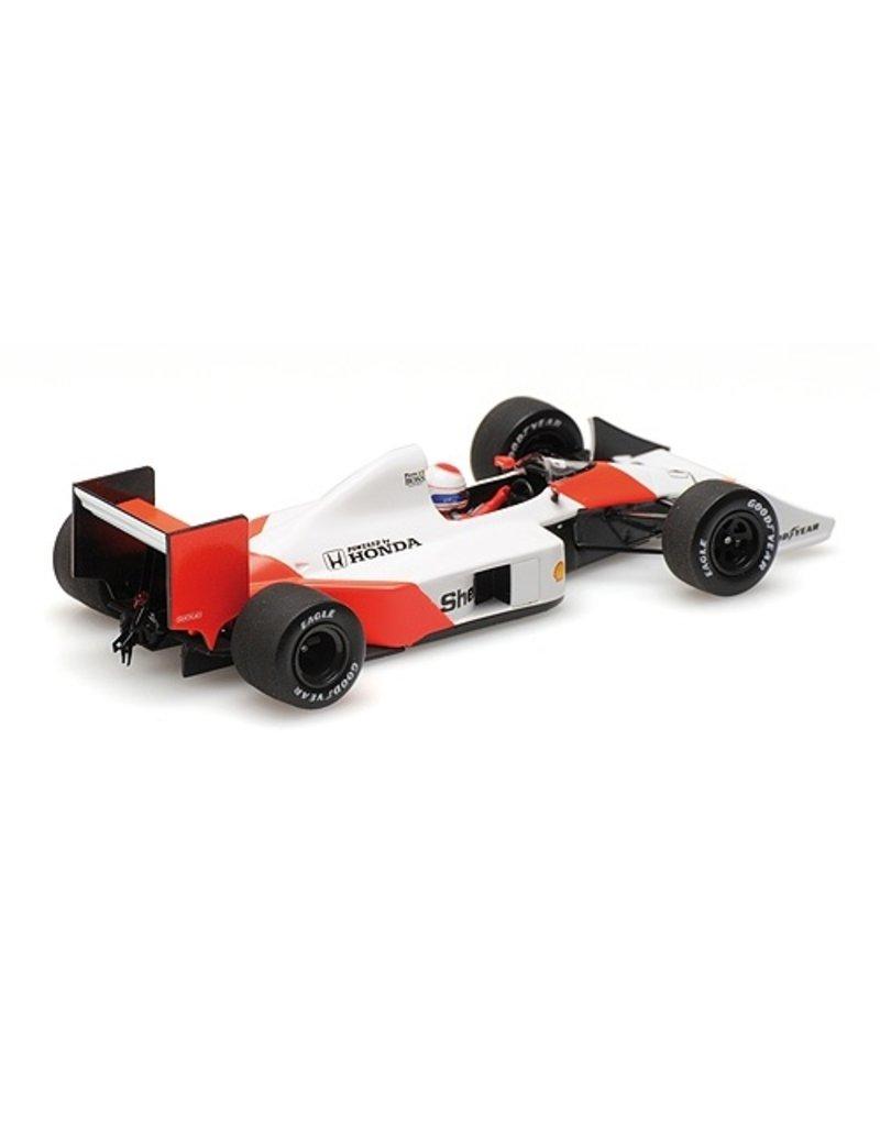 Formule 1 Formula 1 McLaren Honda MP4/4B Test Car Pirro 1988 - 1:43 - Minichamps