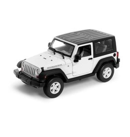 Jeep Jeep Wrangler Rubicon  closed soft top 2007 - 1:24 - Welly