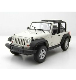 Jeep Jeep Wrangler Rubicon  open roof 2007 - 1:24 - Welly