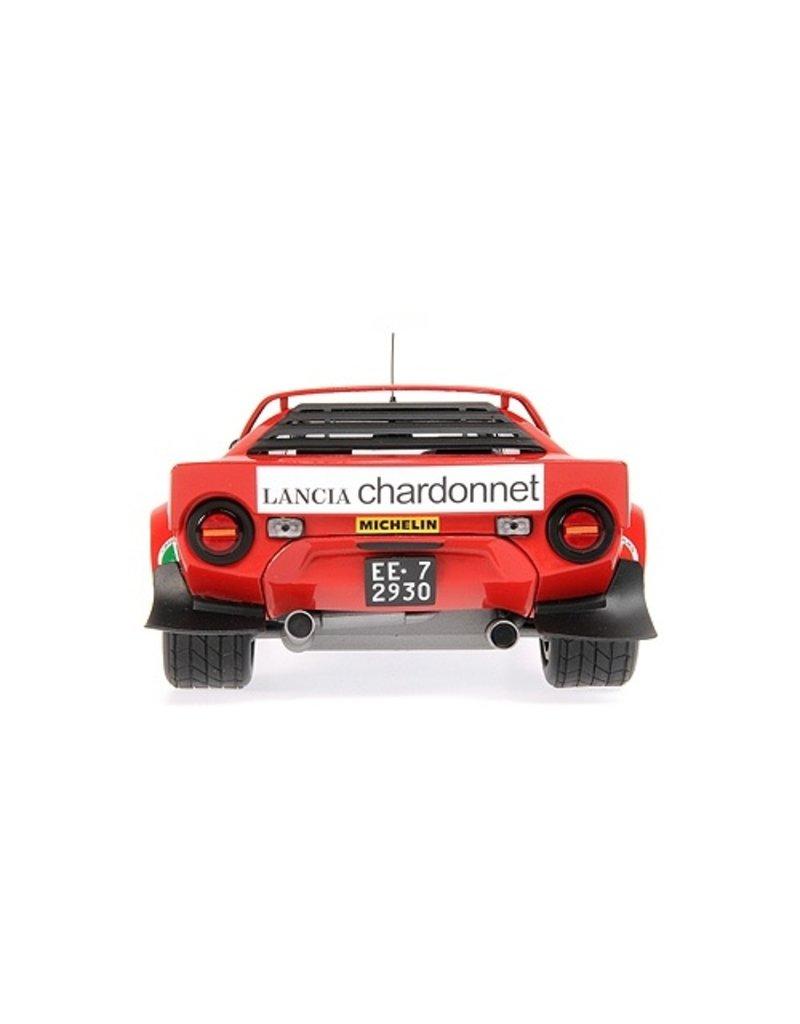 Lancia Lancia Stratos Lancia #6 Winners Tour de Corse 1975 - 1:18 - Minichamps