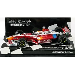 Formule 1 Formula 1 Williams F1 1st Edition Promotional Showcar A. Zanardi 1999 - 1:43 - Minichamps