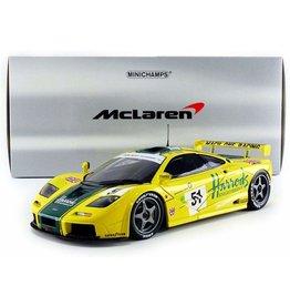 McLaren McLaren F1 GTR Harrods Mach One Racing #51 24h Le Mans 1995 - 1:18 - Minichamps