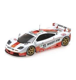 McLaren McLaren F1 GTR West Competition #49 24h Le Mans 1995 - 1:18 - Minichamps