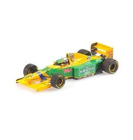 Formule 1 Formule 1 Benetton Ford B193B #6 3rd Place British GP 1993 - 1:43 - Minichamps