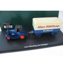Lanz Lanz Eilbulldog + 2-Achs-Anhänger 'Käse-Kühlzug' - 1:43 - Schuco