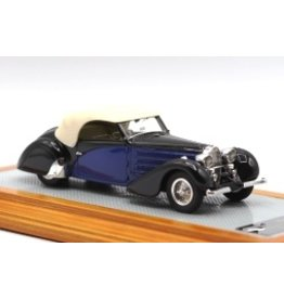 Bugatti Bugatti T57 Stelvio Series II Cabriolet Closed 1935 - 1:43 - Ilario Models