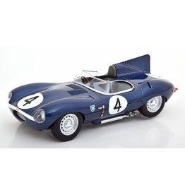 Jaguar Jaguar D-Type #4 24h Le Mans 1956 - 1:18 - CMR Classic Model Replicars