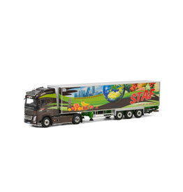 Volvo Volvo FH4 Globetrotter 4x2 + Reefer  Semitrailer 3 axle 'Staf' - 1:50 - WSI Models