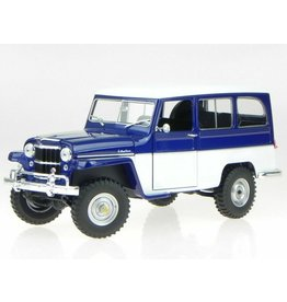 Jeep Willys Jeep Station Wagon 1955 - 1:18 - Road Signature