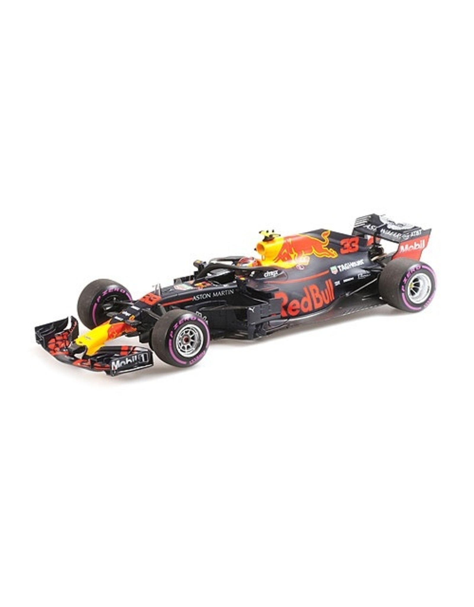Formule 1 Aston Martin Red Bull Racing TAG Heuer RB14 #33 Winner Mexican GP 2018 - 1:18 - Minichamps