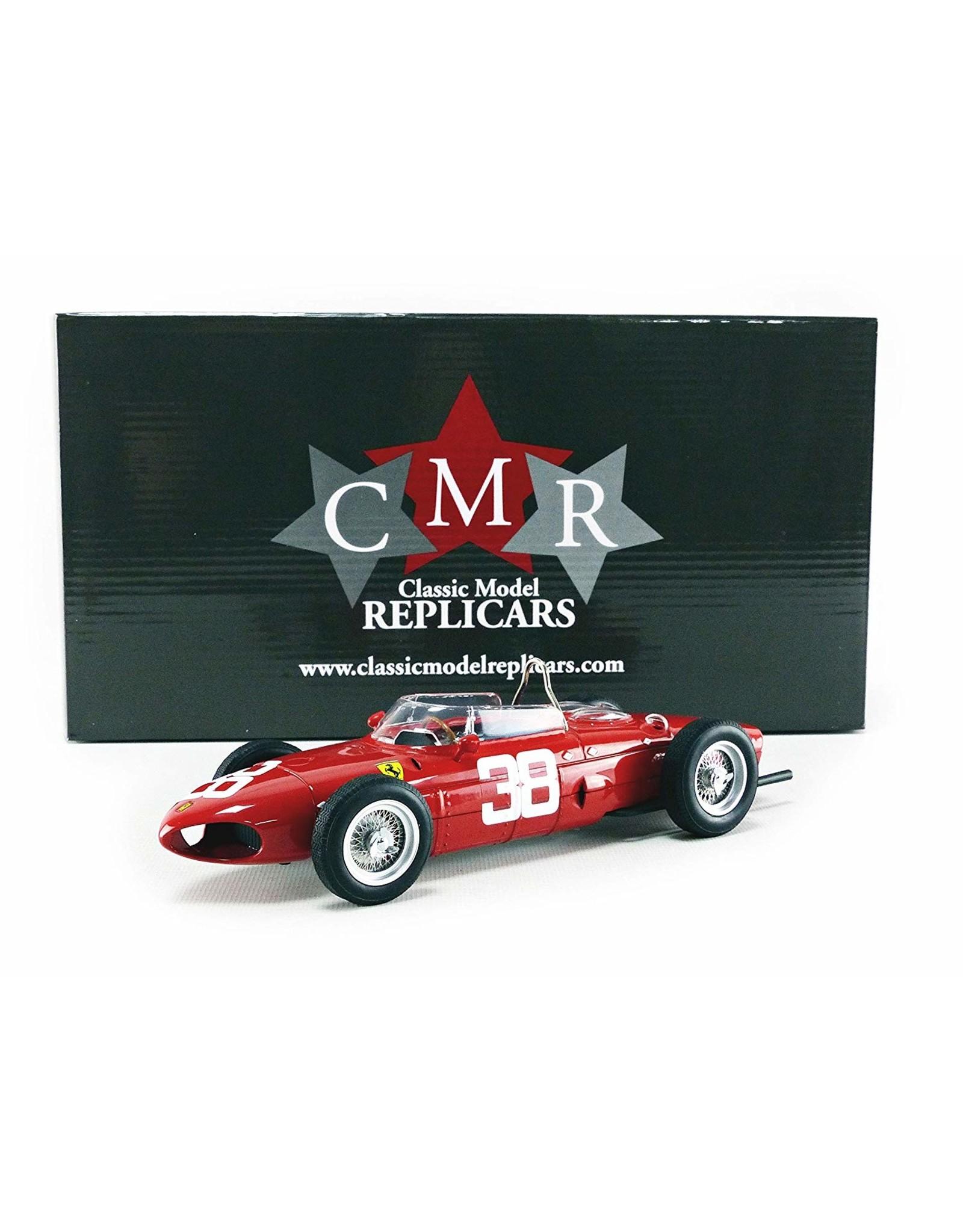 Formule 1 Ferrari Dino 156 Sharknose #38 3rd GP Monaco 1961 - 1:18 - CMR Classic Model Replicars