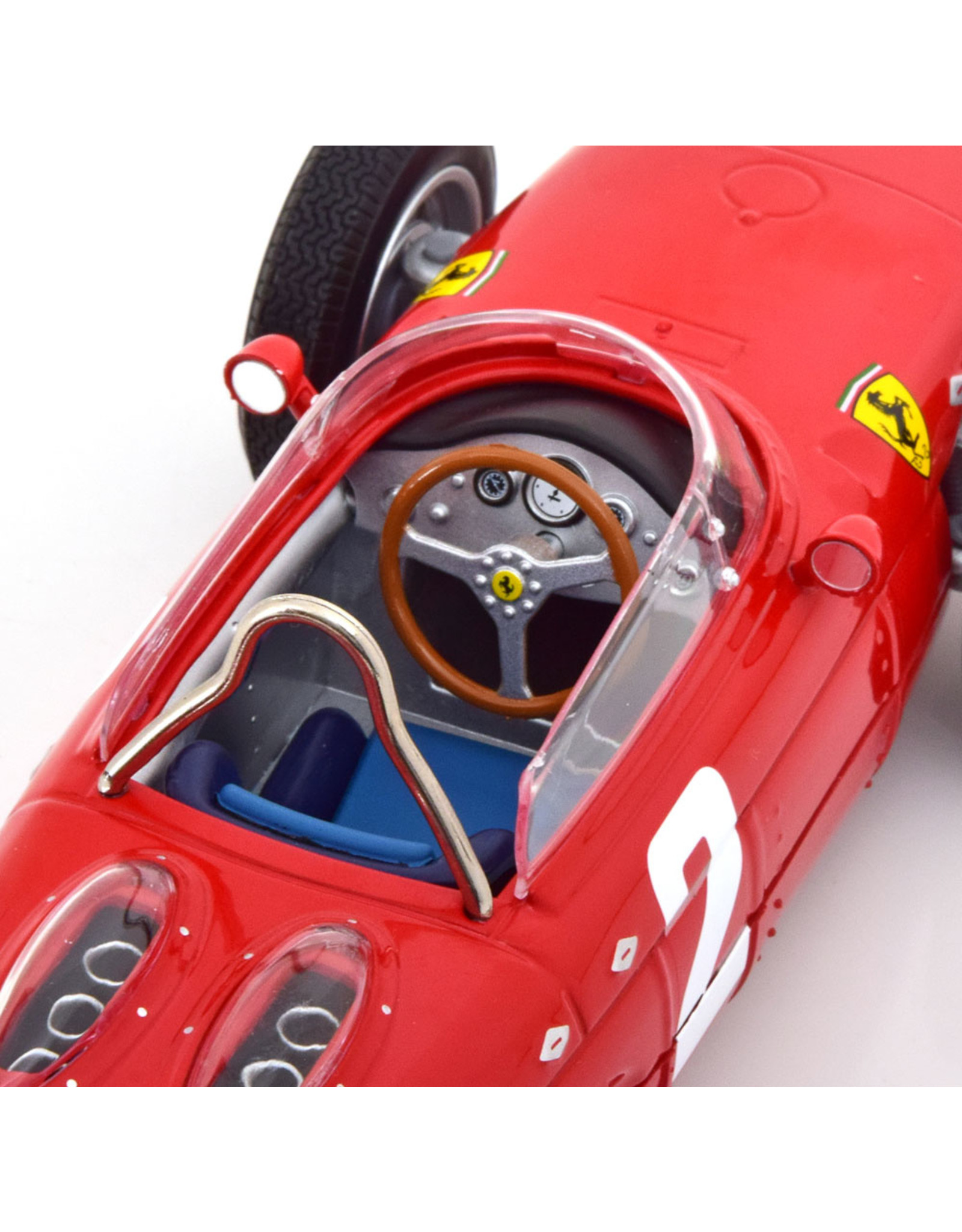 Formule 1 Ferrari Dino 156 Sharknose #2 Winner GP Italy Weltmeister F1 1961 - 1:18 - CMR Classic Model Replicars