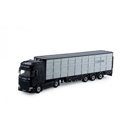 Scania Scania NGS S Serie Highline 4x2 + Live Stock Semitrailer 3 axle 'Sucatrans' - 1:50 - Tekno