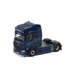 Scania Scania R Highline CR20H Tractor 4x2  'Bas Michielsen' - 1:50 - WSI Models