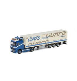 Volvo Volvo FH4 Globetrotter 4x2 + Reefer Semitrailer 3 axle 'Curfs Logistics' - 1:50 - WSI Models
