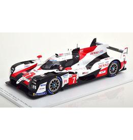 Toyota Toyota TS050 Hybrid #7 Toyota Gazoo Racing 2nd 24h Le Mans 2019 - 1:18 - Spark