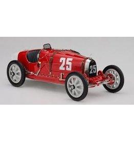 Formule 1 Bugatti Type 35 #25 National Color Project Portugal 1924 - 1:18 - CMC