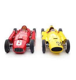 Formule 1 Ferrari (Set) Ferrari D50 #20 6th GP Belgium 1956 + Lancia D50 #6 Winner GP Torino 1955 - 1:18 - CMC