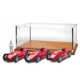 Formule 1 Ferrari  (Set) Ferrari D50 Short Nose #14 GP France 1956 + Ferrari  D50 Long Nose #2 GP Germany 1956 + Ferrari D50 Short Nose #26 GP Italy 1956 + Figure - 1:18 - CMC
