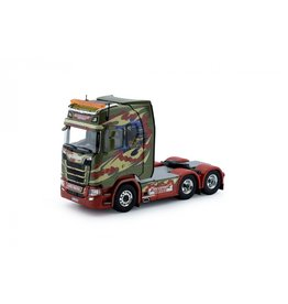Scania Scania S Serie Highline Tractor 6x2 'Transport Service AS' - 1:50 - Tekno