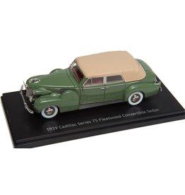 Cadillac Cadillac Series 75 Fleetwood Convertible Sedan Closed 1939 - 1:43 - Esval Models