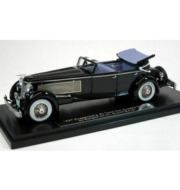 Duesenberg Duesenberg SJ Town Car Convertible Open Chassis 2505 by Rollson 1937 Personal Car Rudolf Bauer - 1:43 - Esval Models