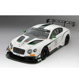Bentley Bentley Continental GT3 #7 Winner Blancpain GT Silverstone 2014 - 1:18 - TrueScale Miniatures