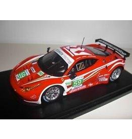 Ferrari Ferrari 458 Italia 8C GTE #59 Pro Team Luxury Racing 2nd 24h Le Mans 2012 - 1:43 - TrueScale Miniatures